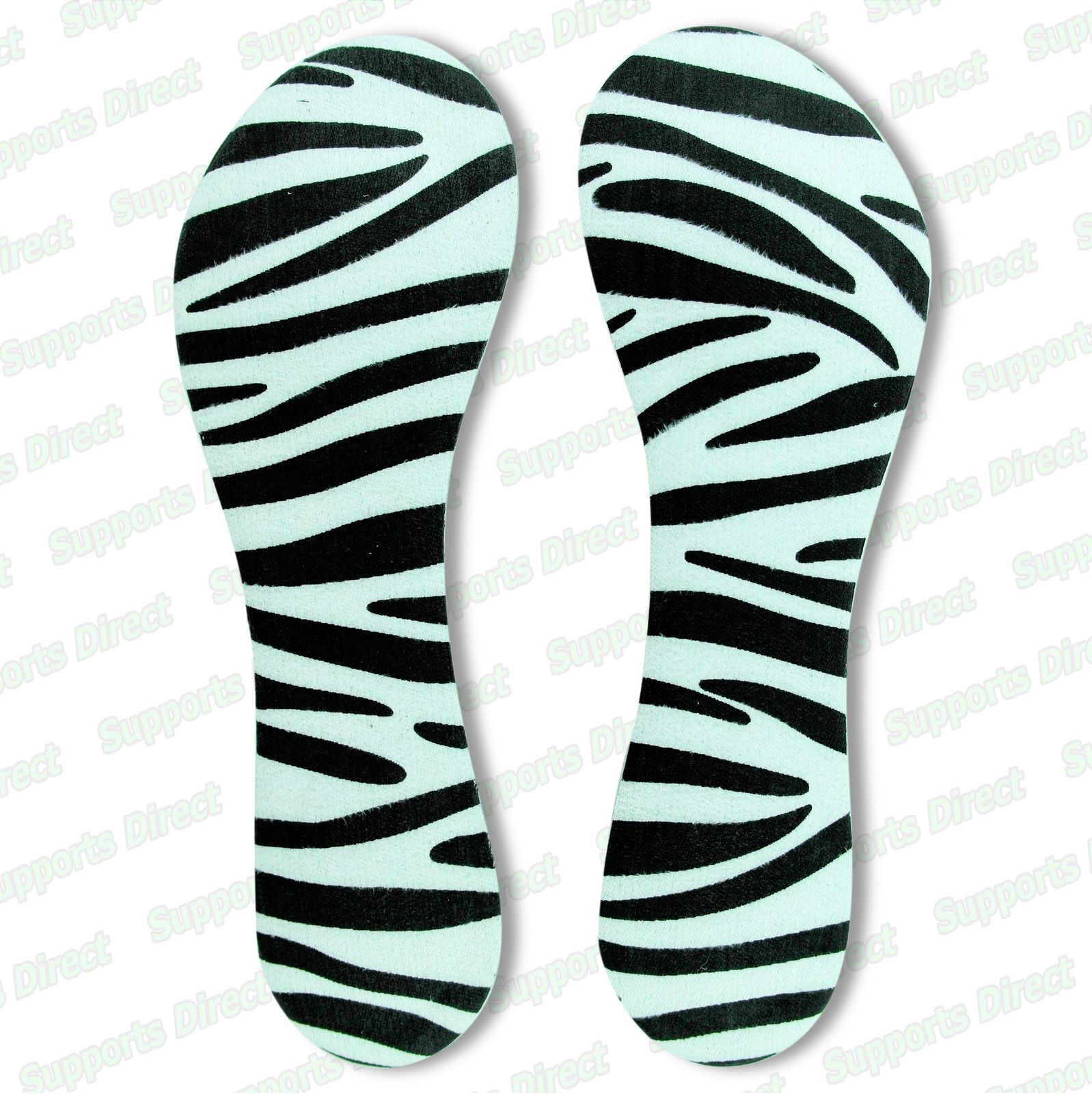 High Heel Shoe Inserts Insole Metatarsal Support Pad Relieve Sore Party Feet zebra