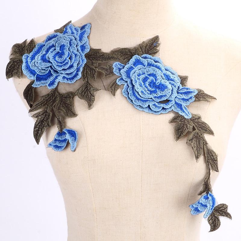1pc Lace λαιμό λουλουδιών λουλουδιών και - Τέχνες, βιοτεχνίες και ράψιμο - Φωτογραφία 2