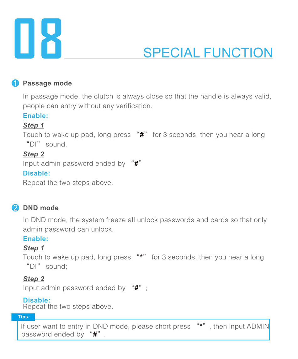 Details about Dahua App Smart Bluetooth Door Lock Code Touch Password  DH-ASL2101S Home Securit