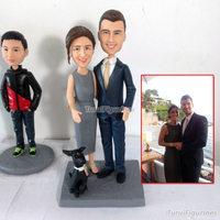 OOAK ручной работы 100% Полимерная глина куклы от вашей фотографии пользовательские уникальные подарки для подруги День Святого Валентина под