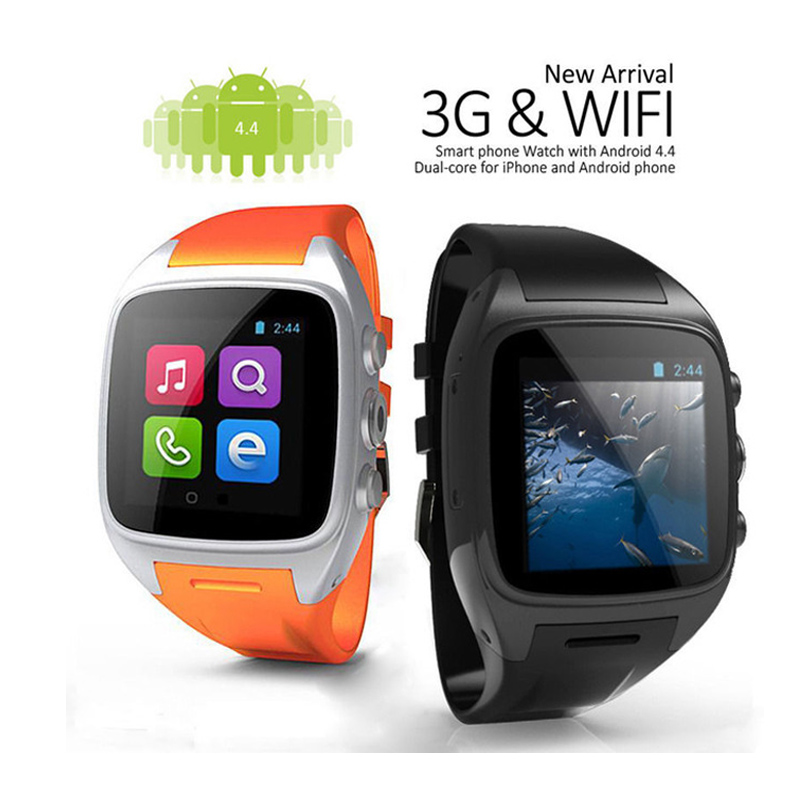 imágenes para Andriod Reloj Teléfono Inteligente Smartwatch X02 SIM + WIFI + 3G + Cámara + GPS + Email + CPU de Doble Núcleo 512 M/4G Bluetooth Reloj Teléfono c0