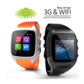 Andriod smart watch phone x02 smartwatch sim + wifi + 3g + câmera + GPS + Email + Dual Core CPU 512 M/4G Bluetooth Watch Phone c0
