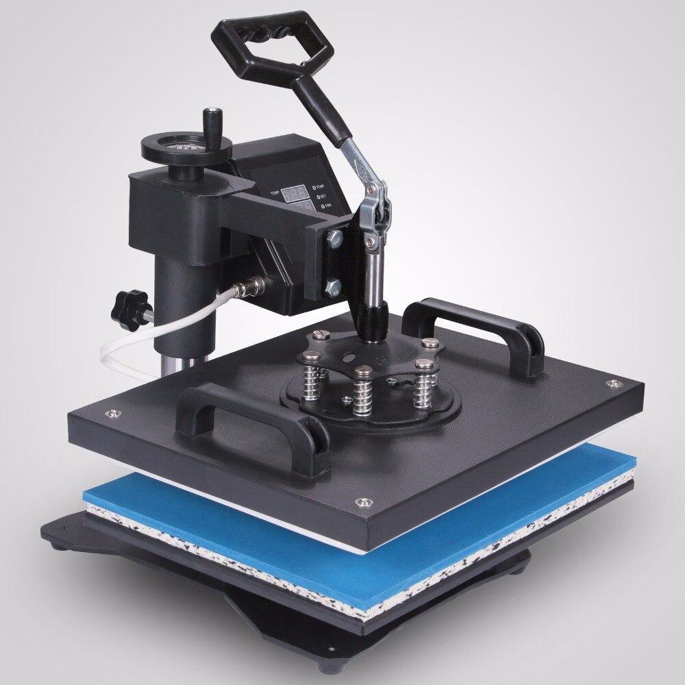 T Shirt Machine De Presse 8 en 1 Presse de La Chaleur Machine Multifonction Sublimation avec Toute la gamme de pression-ajustement