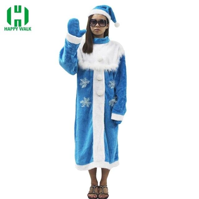 Weihnachten 2019 Schnee.Us 33 42 41 Off 2019 Neue Ankunft Frauen Snegurochka Weihnachten Santa Claus Kostüm Weihnachten Blau Schnee Maiden Cosplay Kleid Weihnachten