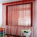 Casa & Cozinha 200 cm x 100 cm Corda De Seda cortinas Cortina Da Porta Janela Divisor Valance Cortinas Da Janela da cozinha cortinas