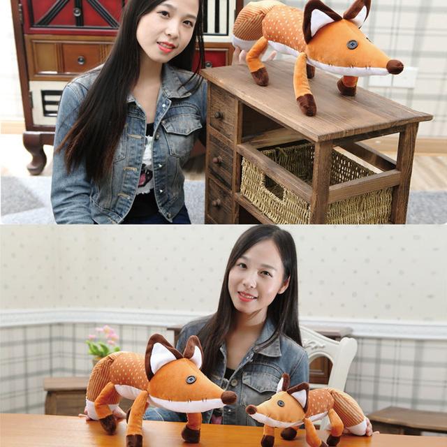 1Pcs New 40cm/60cm the little prince plush dolls baby bedding set hot sale fox cartoon plush toys for kids birthday gift
