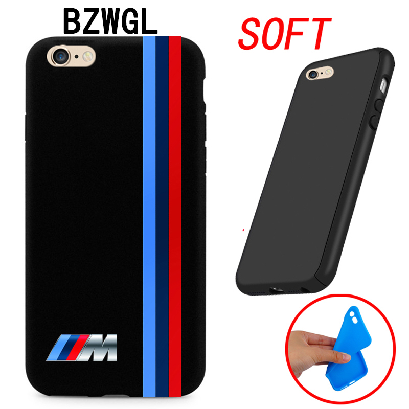 huge selection of 9a2e3 d18b6 Brand For Silm BMW M Series M3 M5 Cover Iphone 4 4S 5 5C SE 6 6S 7 Plus 4.7  5.5 Ultra Thin Soft Case