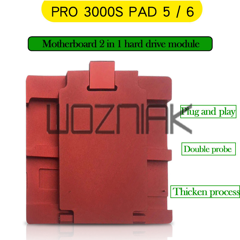 NAND Flash IC Chip Programmer Tool Fix and for ipad 2 3 4 5 6 Non-removal adapter without change NAND by NAVI PLUS Pro3000s презервативы unilatex dotted 12 шт 3 шт в подарок