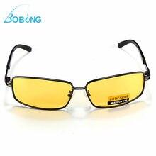 Bobing Fishing Sports Yellow Len Polarized UV 400 Fishing Sunglasses Night Vision Sport Shade Glasses Goggles