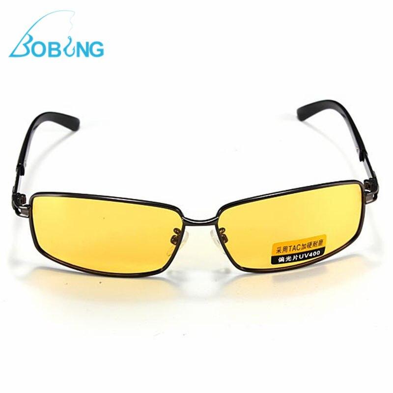 5e198ff57 Óculos de Sombra Böbing Pesca Esportes Amarelo Len Polarizada uv 400 Esporte  Óculos de Sol Visão Noturna