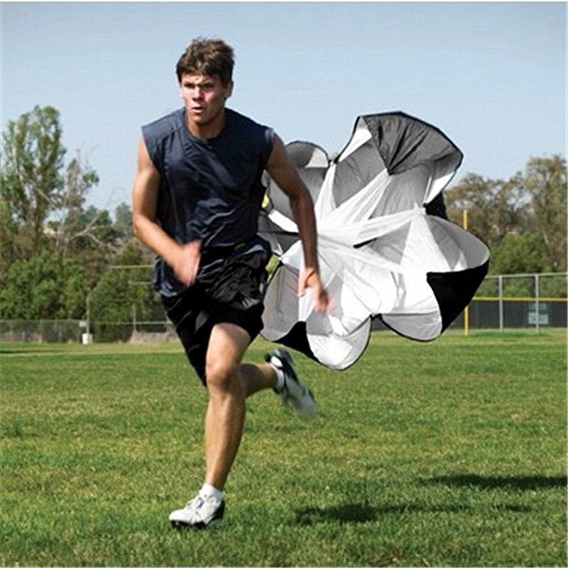 Speed Strength Training Resistance Parachute Umbrella Running Chute Adjustable Drag Resistant Parachute for Running Sprint Umbrella with Carry Bag