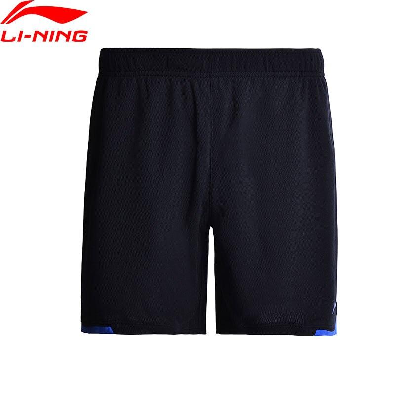 Li-Ning Для женщин Шорты для бадминтона конкурс на atdry дышащий 100% полиэстер подкладка Спортивные шорты AAPM132 WKY112