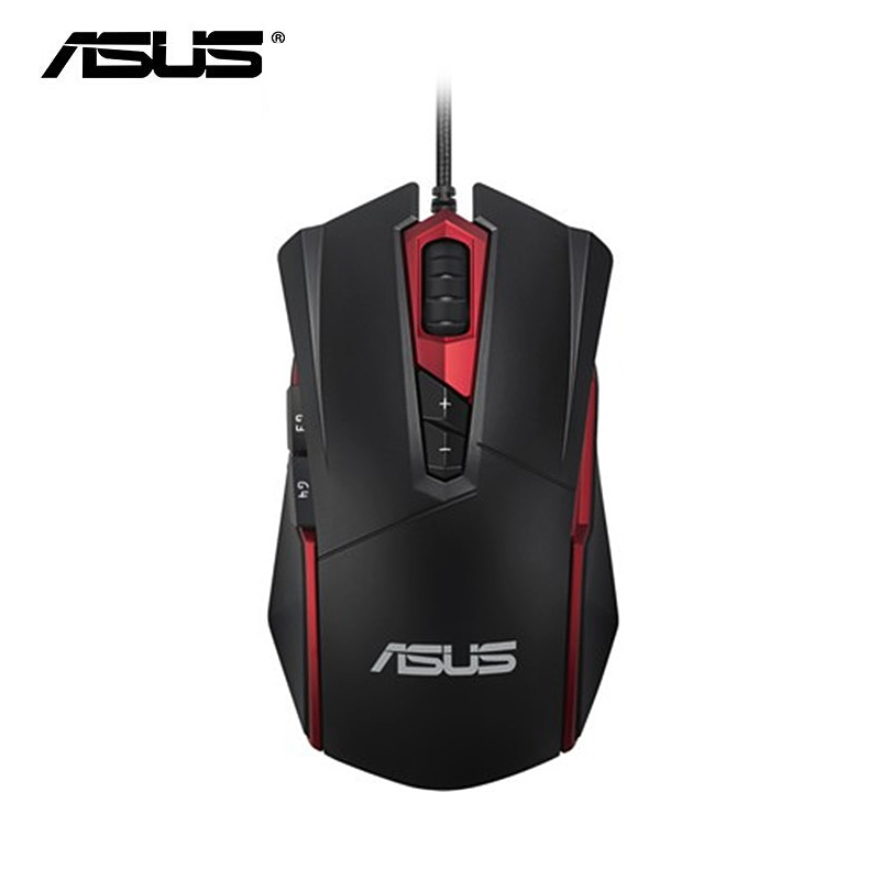 ASUS GT200 Gaming Mouse Laser 4000DPI Wired Mouse USB