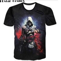 Assassin T Shirt Creed Men S Funny Game T Shirt Summer Style Outfit Tees Top Full