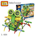 8 style Robotic Building Set Block Toy Battery Motor Operated Design Alien Primate Robot Figure for kids adults Sturdy Enough