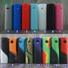 100pcs silicone skin for SMOK Stick V8 Vaping Pen cover thicker case sticker mod shiled 2017 new product free shipping by DHL