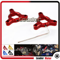 Motorcycle Accessories 14mm CNC Aluminum Suspension Fork Preload Adjusters Red For YAMAHA FZ1 YZF-R6 YZF-R1 YZF R1 R6