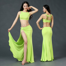 Belly dance eastern diamond embroidery skirts bra dress costume for oriental dance dancing belt for belly dancing suit set 830