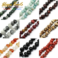 Wholesale 10mm-15mm Irregular Beads 18Styles Natural Stone Beads DIY Bracelet Jewelry Making(F00498-F00516)