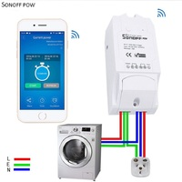 Sonoff Pow Wifi Remote Control Switch With Real Time Power Consumption Measurement Ac90 250 V 250
