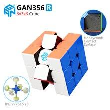 цена на GAN356 R 3x3x3 Speed Magic Cube Professional Stickerless GAN356R Puzzle Cubo Magico Educational Toys For Kid GANS 356 R Gift