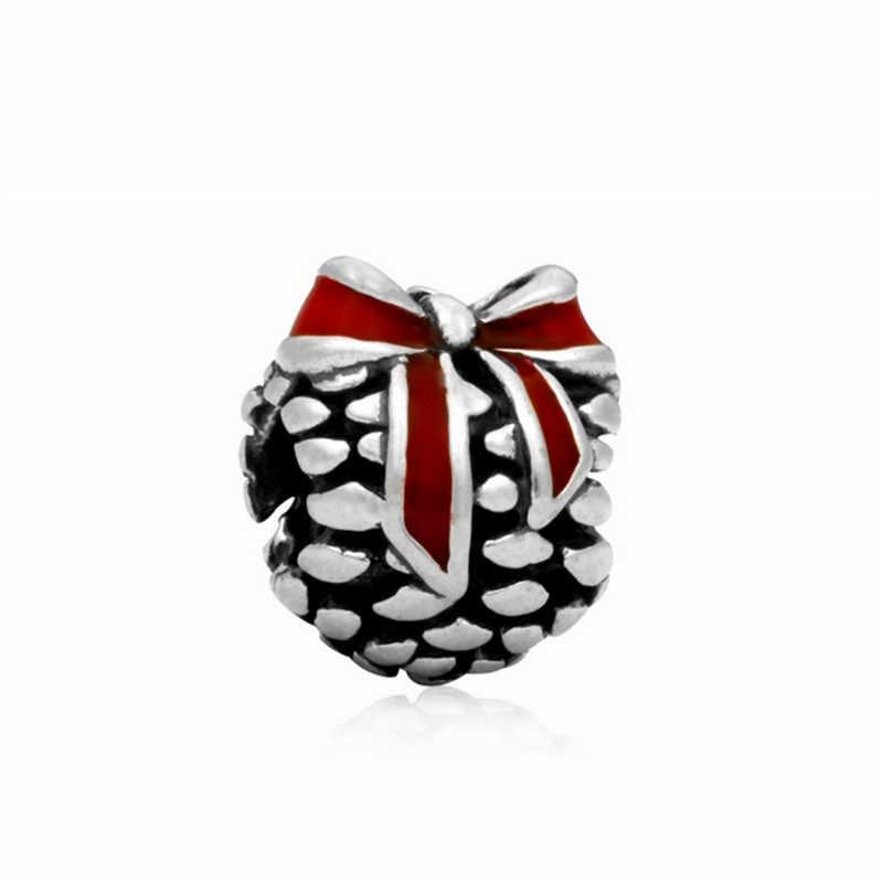 החדש רטרו כסף DIY תכשיטי קסמי חרוזים Fit Pandoraa צמיד ושרשרות תליון אותנטי חרוזים תכשיטי ביצוע נשים מתנות