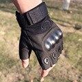 2016 Real Mechanix Military Tactical Gloves Antiskid Outdoor Half Finger Mittens Winter Thermal Men Fighting Leather Blackhawk