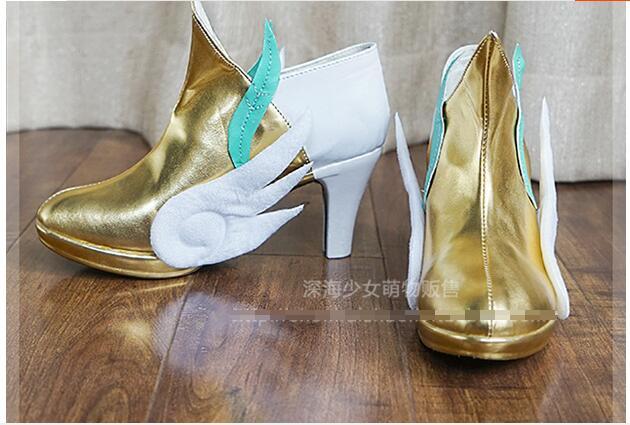 LOL Cosplay  lol soraka cosplay shoes 1