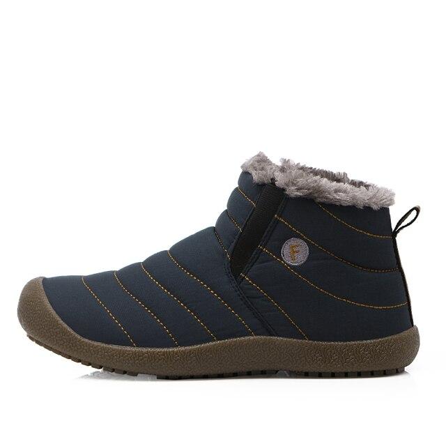 Bottes de neige hiver chaussures en coton chaussures pour Hommes chaussures de sport wjLrky0M