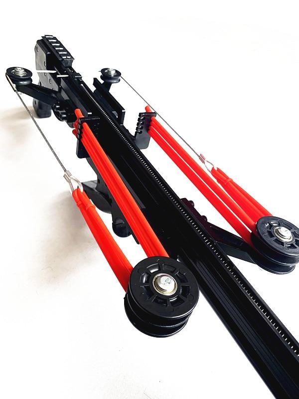 Semiautomatic Slingshot Rubber Belt Driving Force 40BB Bearing Slip NEW 2019