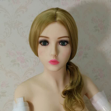 1# oral sex doll head for real sized full silicone sex love doll, for 135cm-170cm sex dolls body high quality