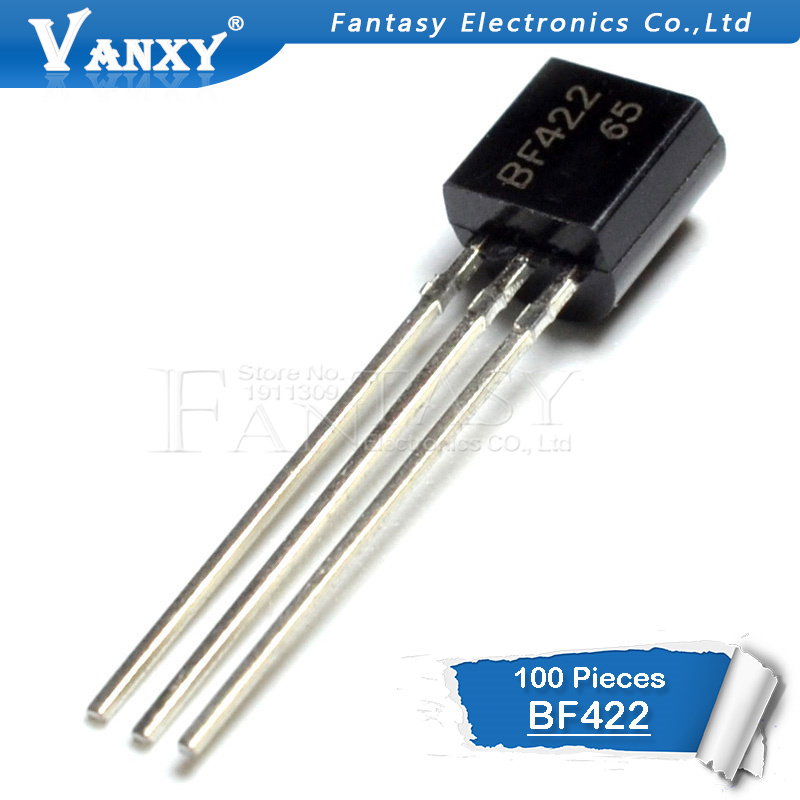 100PCS BF422 TO-92 422 TO92 New Triode Transistor