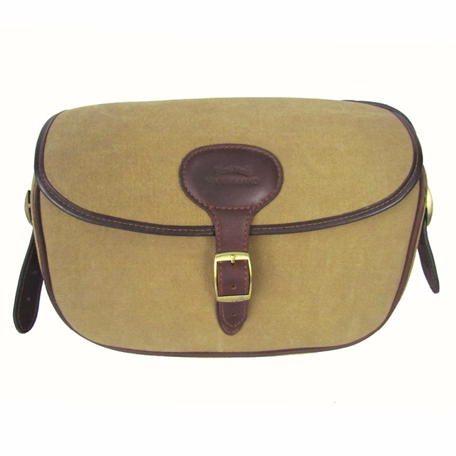 2016 Tactical Ammo Shotgun Rifle Cartridge Bag Canvas Leather Brown Big  Capacity Easy to Take Shoulder Belt Sling