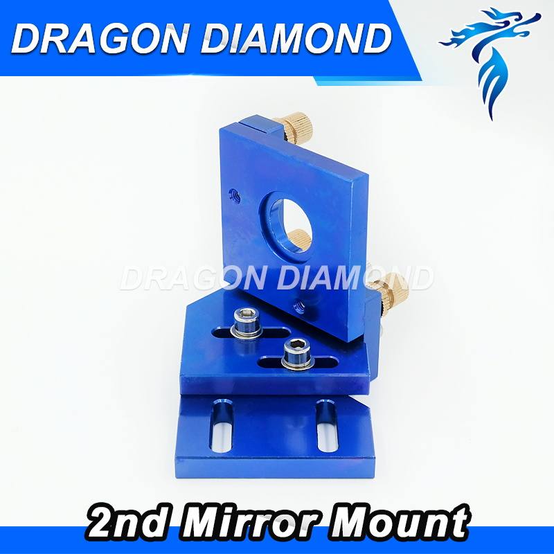 CO2 Laser Head Dia 25mm Second Reflection Mirror Support Integrative Mount Holder for Laser Engraving Cutting Machine the rail of laser machine 1490 include belt bear wheel motor motor holder mirror holder tube holder laser head etc