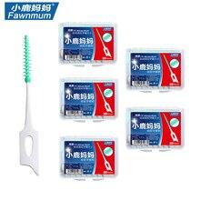 Массажная силиконовая зубочистки для чистки межзубных пространств, 100 штук Inter зубные щетки Зубная Чистка десен мягкие выбирает