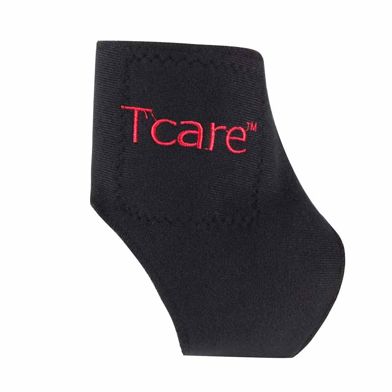 Tcare 1Pair Tourmaline Self heating Far Infrared Magnetic Therapy Ankle Care belt Support Brace Heel Massager Foot Health Care 2