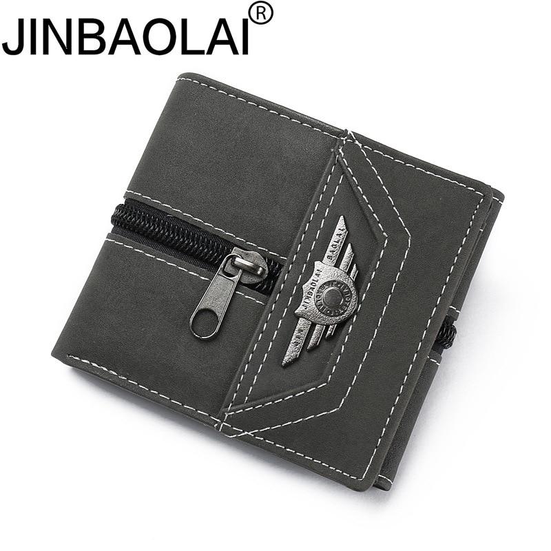 Wallet Men Purse-Pockets Portfolio Man Rfid Slim Small Mini Coin Male Fashion