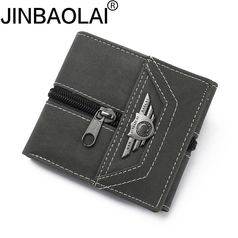 PU Leather Wallet Men PORTFOLIO MAN Male Small Portomonee Vallet With Coin Purse Pockets Slim Rfid Fashion Mini Walet