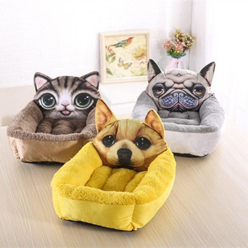 Kisállat kutya ágy ház párna kiságy közepes kutyák macska - Pet termékek - Fénykép 2