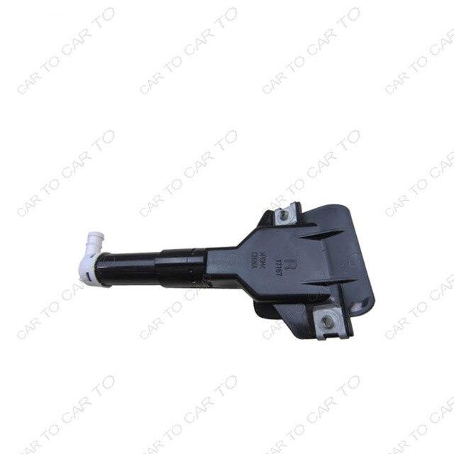 Alta qualidade farol washer bico esquerdo e direito para Honda Odyssey RB3 76880-SLE-S01 76885-SLE-S01