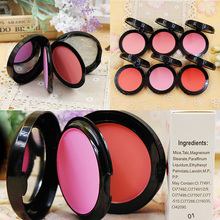 2016 Beauty Face Contouring Blush Powder Makeup Baked Cheek Color Bronzer Blusher Palette colorete Sleek Cosmetic Shadow