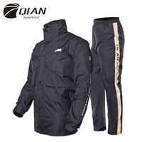 QIAN непроницаемый плащ женский/мужской костюм дождевик открытый капюшон женский плащ мотоцикл рыбалка кемпинг дождевик мужская куртка
