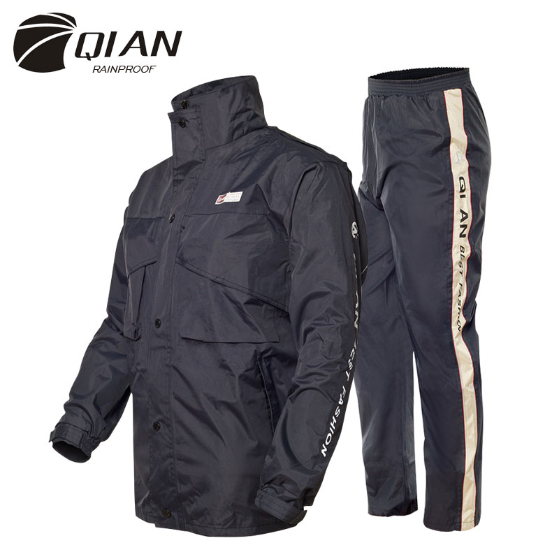 Discount Motorcycle Gear >> Aliexpress.com : Buy QIAN RAINPROOF Professional Adult ...