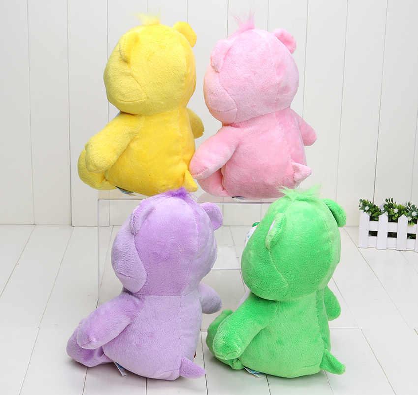 4 шт./компл., розничная продажа, 4 цвета, возраст: 30 см заботливые мишки Мягкие плюшевые куклы игрушка чучело медведя в entense кукла для подарка