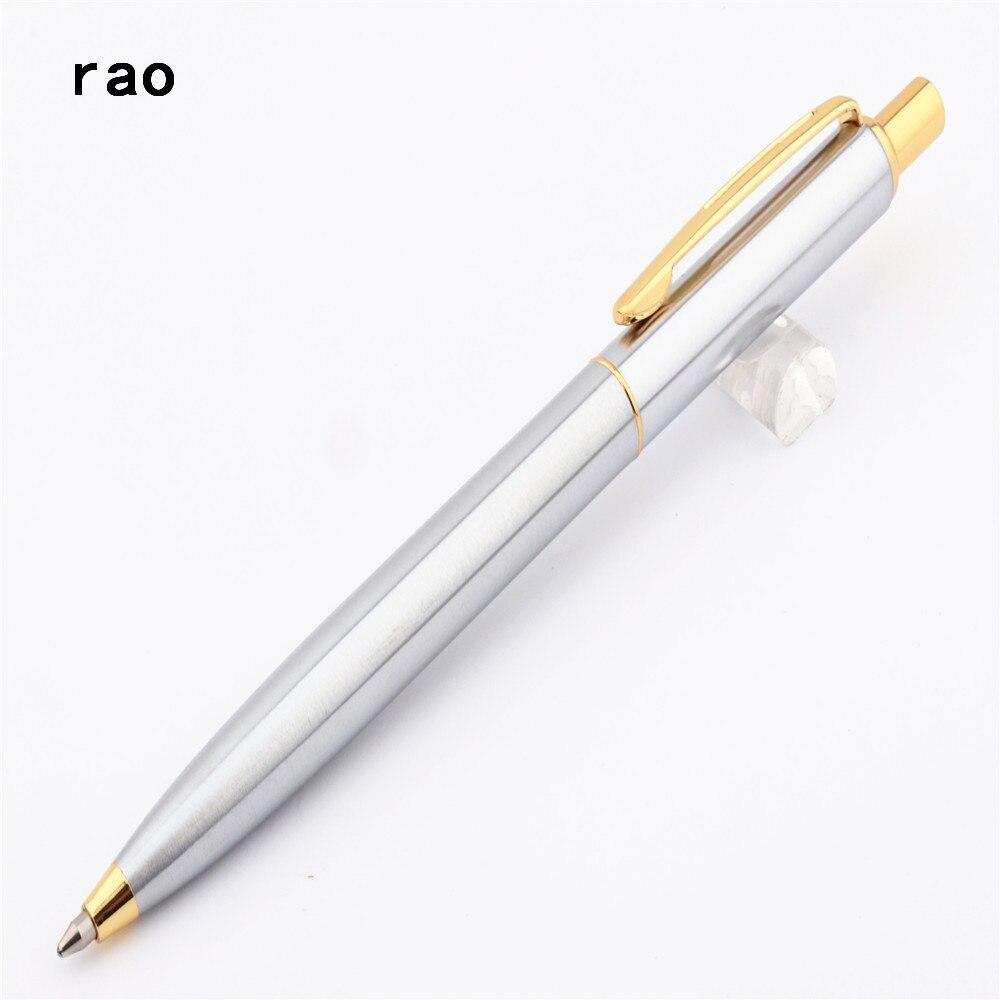Высококачественная шариковая ручка 39 международного бренда из платины и нержавеющей стали для бизнеса и офиса с средним наконечником Нови...