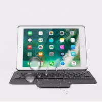 Kemile Ultra Slim Bluetooth Keyboard Case For Apple 2018 IPad 9 7 Stand PU Leather Cover