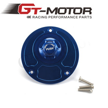 GT Motor - Motorcycle New CNC Aluminum Fuel Gas CAPS Tank Cap tanks Cover With Rapid Locking For DUCATI 600 750 900 ST2 ST4