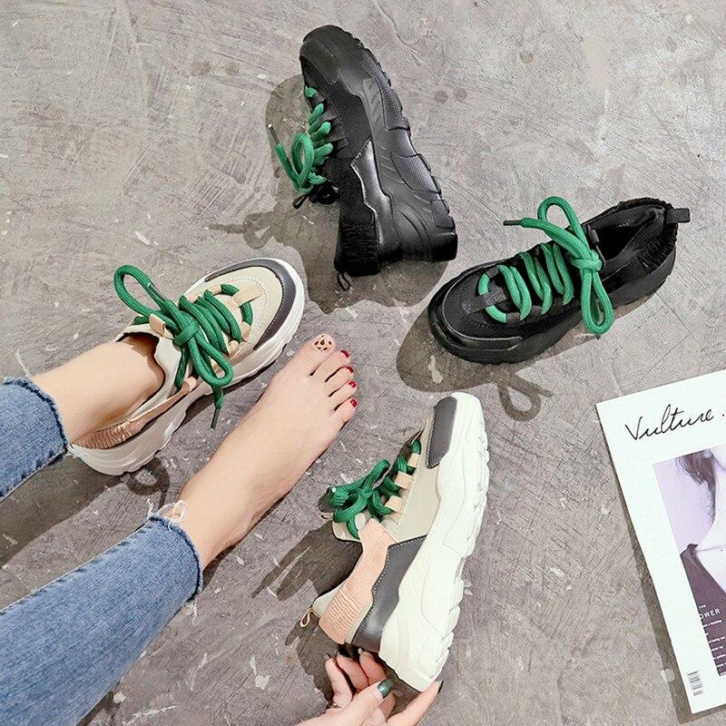Femme Mode Plate 2018 Chaussure Occasionnels 1 Chaude Automne Chaussures Femmes Confortable forme Printemps 2 Et De fwOqFrTf