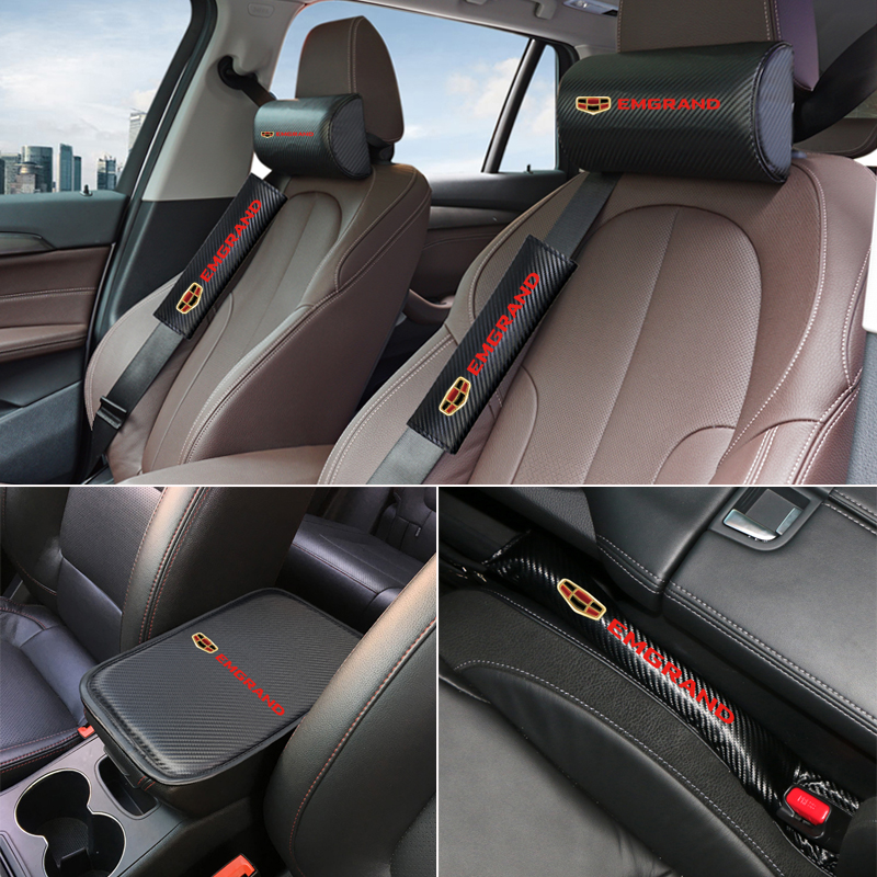 Car Neck Pillow Auto Support Memory Foam Headrest Universal Support For Travel Office Home Car For Geely Emgrand Ec7 Emgrand 7