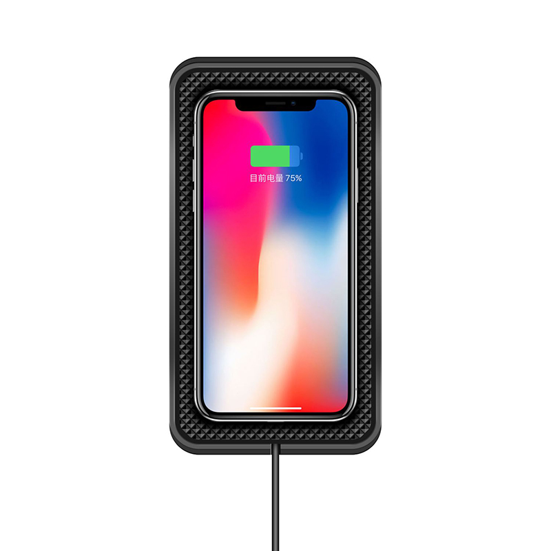 Image 2 - 10W 7.5W 5W Car Charger QI Wireless Charger Wireless Charging Dock pad for samsung s9  Fast phone charger for iPhone X 8plus XR-in Car Chargers from Cellphones & Telecommunications